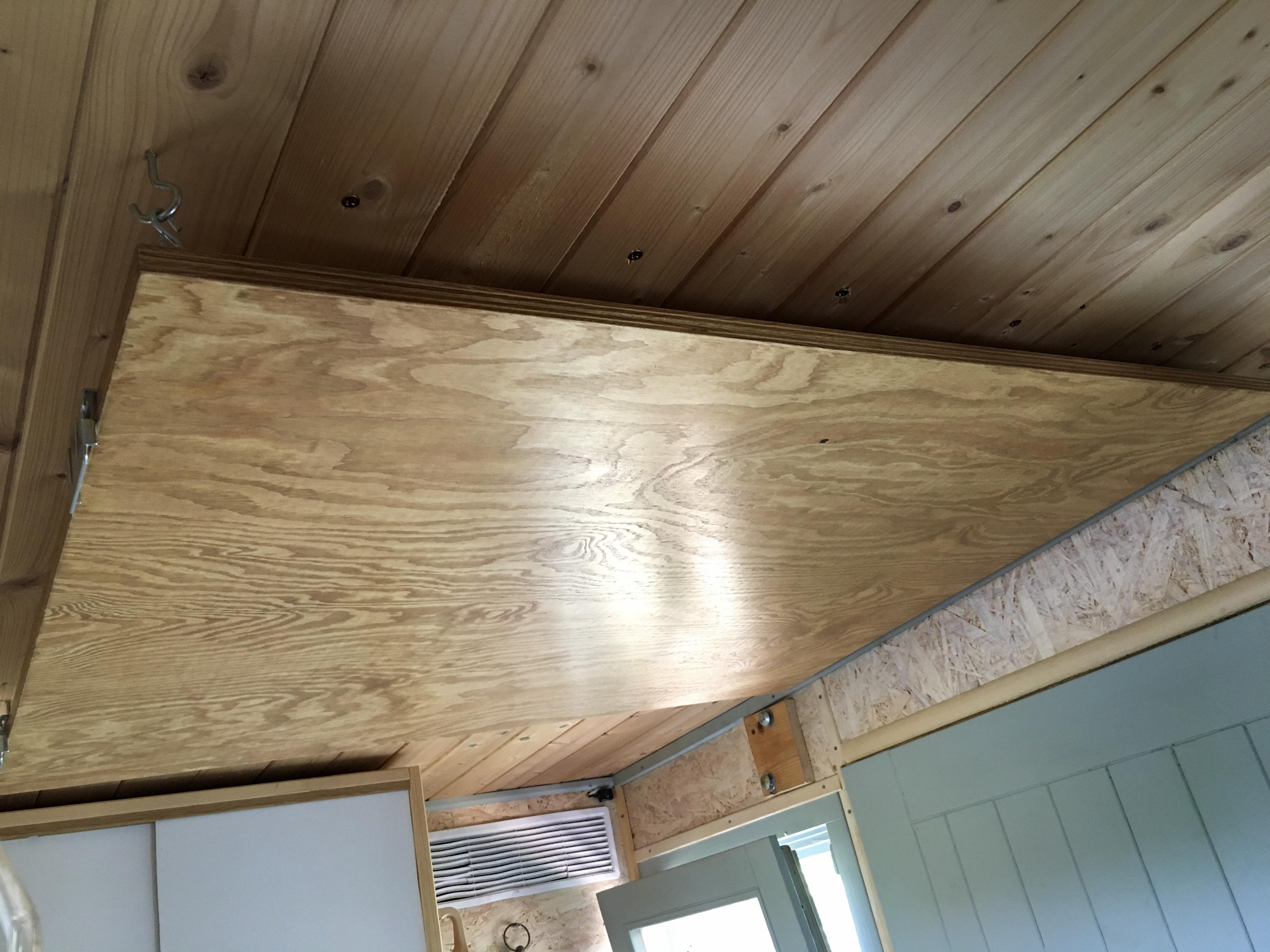 stored desk board